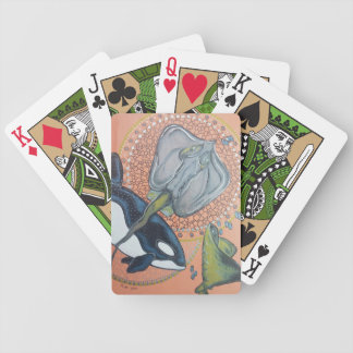 Orcas Bicycle Playing Cards
