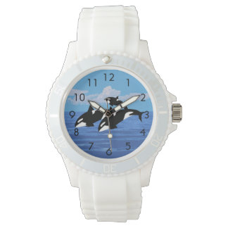 Orcas Custom Sporty White Silicon Watch