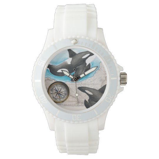 Orcas Map Wristwatches