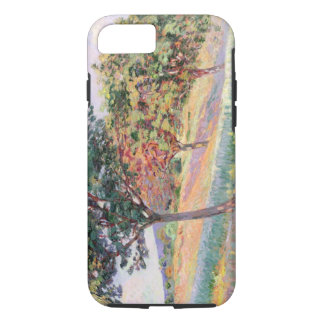 Orchard at St. Cheron, 1893 (oil on canvas) iPhone 7 Case