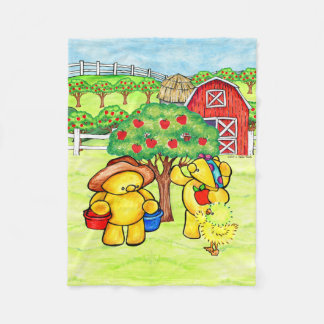 Orchard fun blanket