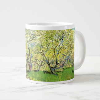 Orchard in Blossom by Vincent van Gogh. Large Coffee Mug