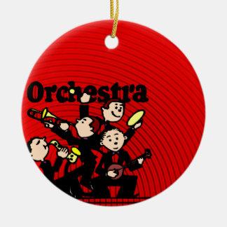 Orchestra Ceramic Ornament