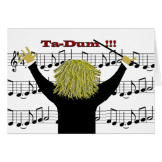 Orchestra Conductor Congratulations Card