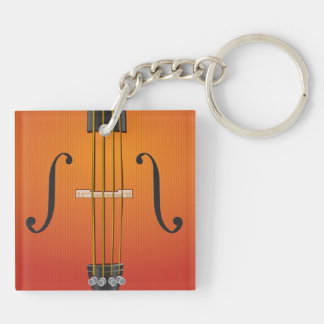 Orchestra Double-Sided Keychain