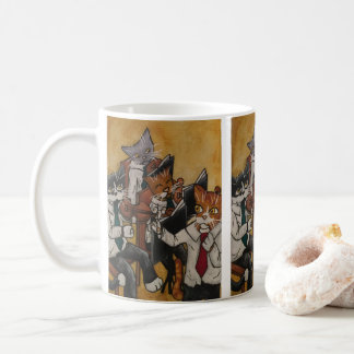 Orchestral Cats Coffee Mug