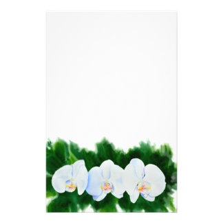 Orchid 3 stationery