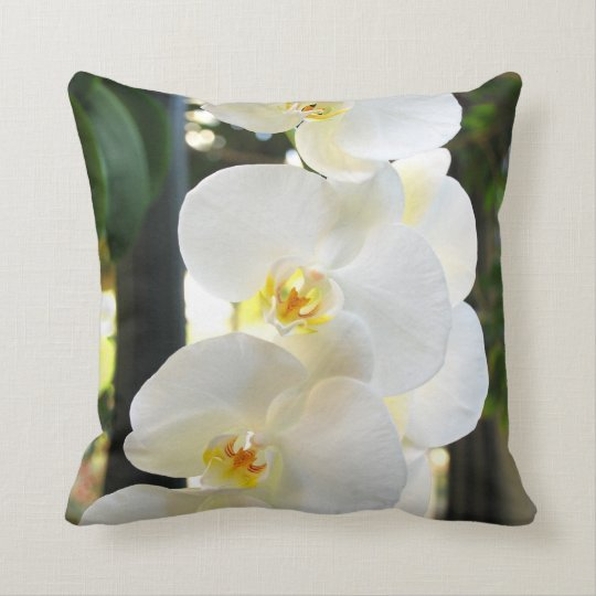 ORCHID #9 THROW PILLOW