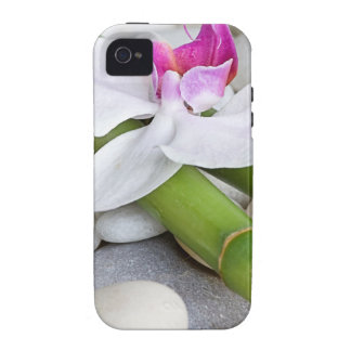 Orchid and Bamboo iPhone 4 Case