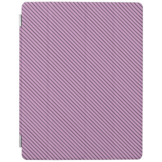 Orchid and Black Stripe iPad Cover