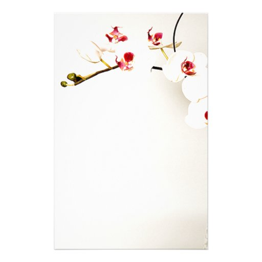 Orchid Arch Stationery Customized Stationery