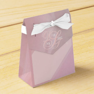 Orchid Blush Favor Box