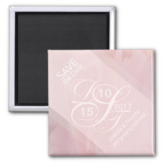 Orchid Blush Save the Date Magnet