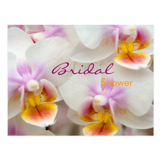 Orchid • Bridal Shower Invitation Postcard