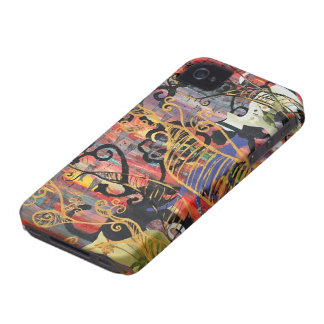 Orchid Cats BlackBerry bold Case