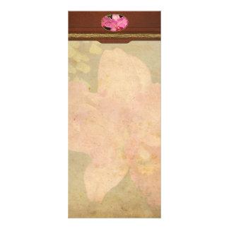 Orchid -  Cattleya - Magenta Splendor Rack Card Template