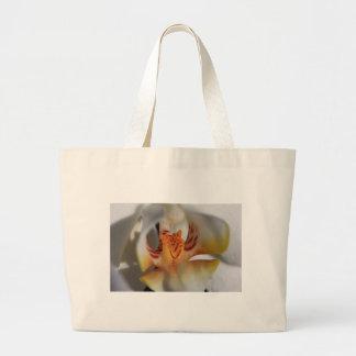 Orchid Closeup Large Tote Bag