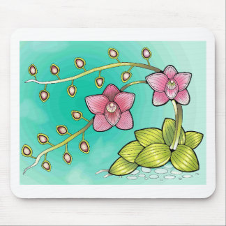 Orchid Color Mouse Pad