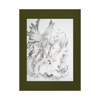 ORCHID DANCER - KEEPER OF THE ORKIDS CANVAS PRINTS