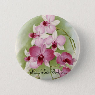 Orchid - DendrobiumPhalaenopsis 2 Inch Round Button
