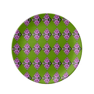 Orchid Diamond Pattern Plate