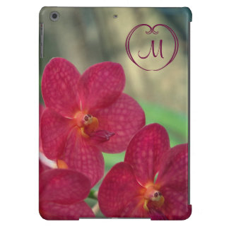 Orchid Faces monogram pink iPad Air iPad Air Case