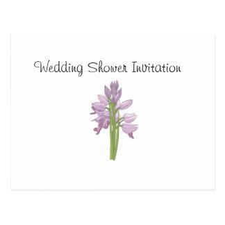Orchid Favors Ideas, Wedding Shower Theme Postcard