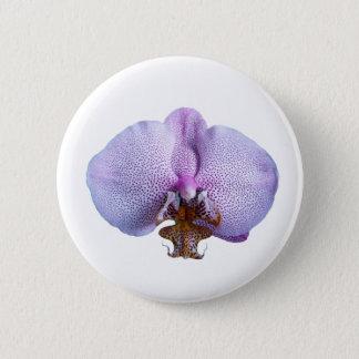 Orchid Flower 2 Inch Round Button