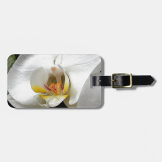 Orchid Flower Bag Tag