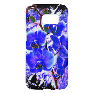 Orchid flower plant samsung galaxy s7 case