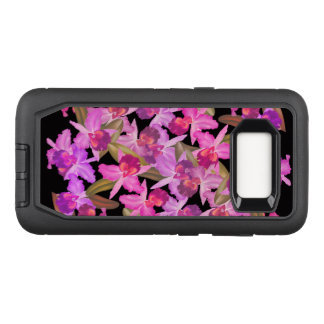 Orchid Flowers Defender Samsung Galaxy S8 Case