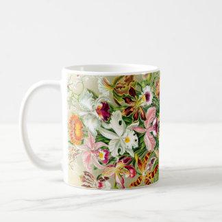 Orchid Flowers Mug