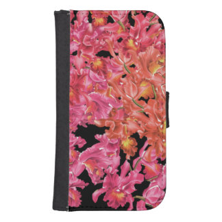Orchid Flowers Samsung Galaxy Case Phone Wallet Cases