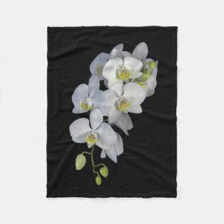 Orchid Garland Fleece Blanket
