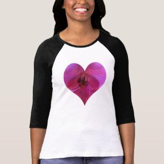 Orchid Heart Ladies TShirt