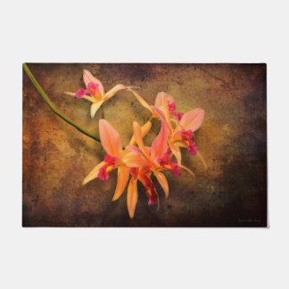 Orchid - Laelia - It's showtime Doormat