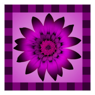 Orchid Magenta FLower artwork - Posters