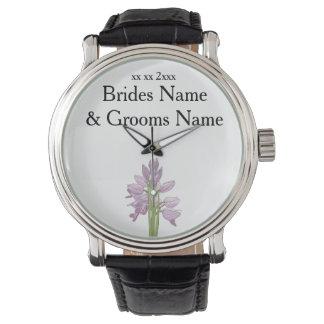 Orchid Modern Simple Elegant WeddingIdeas Watch
