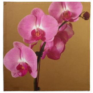 orchid napkin