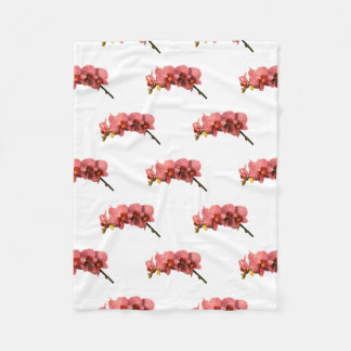 Orchid Party Personalize Destiny Destiny'S Fleece Blanket