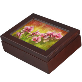 Orchid - Phalaenopsis - Simply a delight Keepsake Box