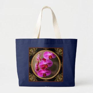 Orchid - Phalaenopsis - The moth orchid Large Tote Bag