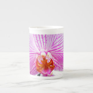 Orchid Pink Asian Flower Tea Cup