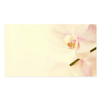 Orchid - Pink High Key Flower - Floral Template Business Card