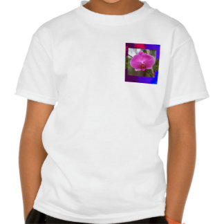 ORCHID pink Pearl Flower Love Romance Expression Tee Shirts