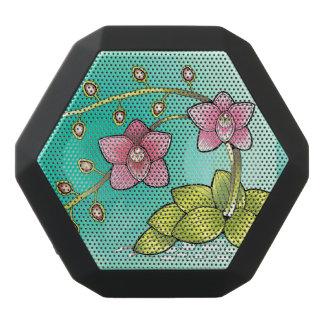 Orchid Plant Black Bluetooth Speaker