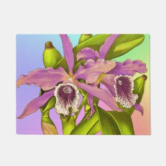 Orchid Pop Doormat