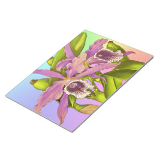 Orchid Pop Notepad