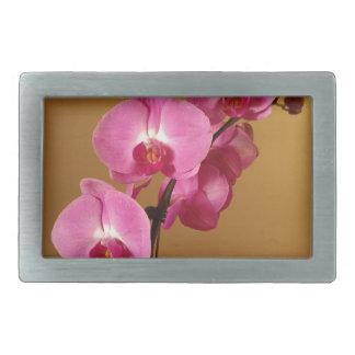 orchid rectangular belt buckle