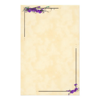 Orchid Scripts Stationery